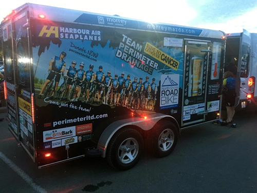 What I've Learned About Team Perimeter & The Ride to Conquer Cancer